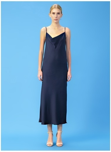 Derin Mermerci X Boyner Elbise Lacivert
